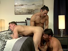 Rego begins to fuck Alexander showing Tommy just how great his cock will feel deep in his smooth ass. While the fucking continues their hands roam and the ones not fucking are either sucking or getting blown. Alexander then fucks Tommy long and deep as he